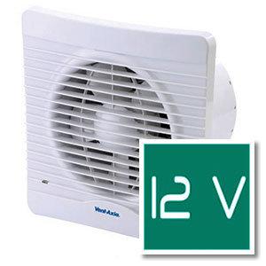 12V-os fürdőszoba ventilátor