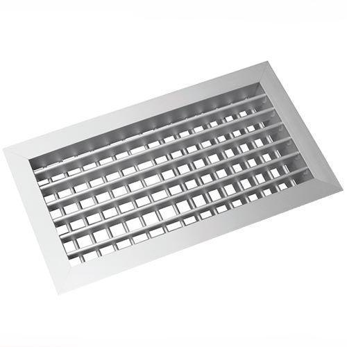 AHVN-W fehér kétsoros alumínium fali rács