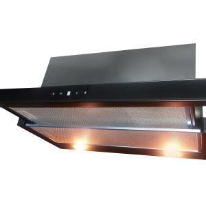 Airmec SLIM VETRO PLUS 90 fekete konyhai páraelszívó