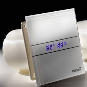 CATA E-GLAS fürdőszoba ventilátor üveg előlappal