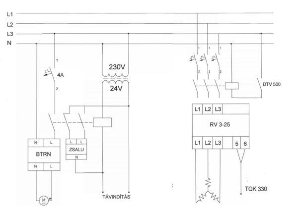 CVA-M Elektromos fűtő kalorifer bekötése