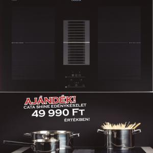 Cata AS 750 indukciós kerámialap beépített elszívóval konyhai páraelszívó