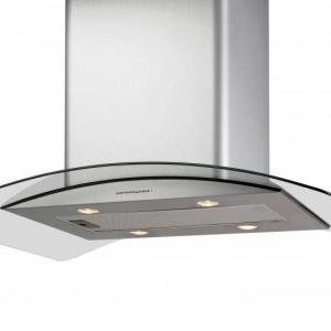 Cata ISLA GAMMA GLASS/X LED konyhai páraelszívó