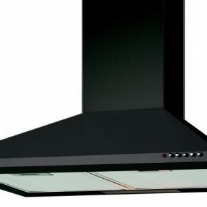 Cata V-600 BK/L fekete konyhai páraelszívó