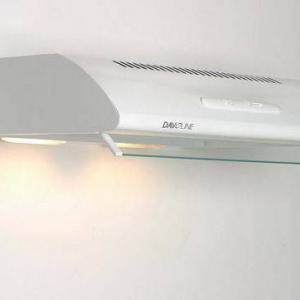 Davoline OLYMPIA 60 fehér / standard / fém zsírfilterrel konyhai páraelszívó
