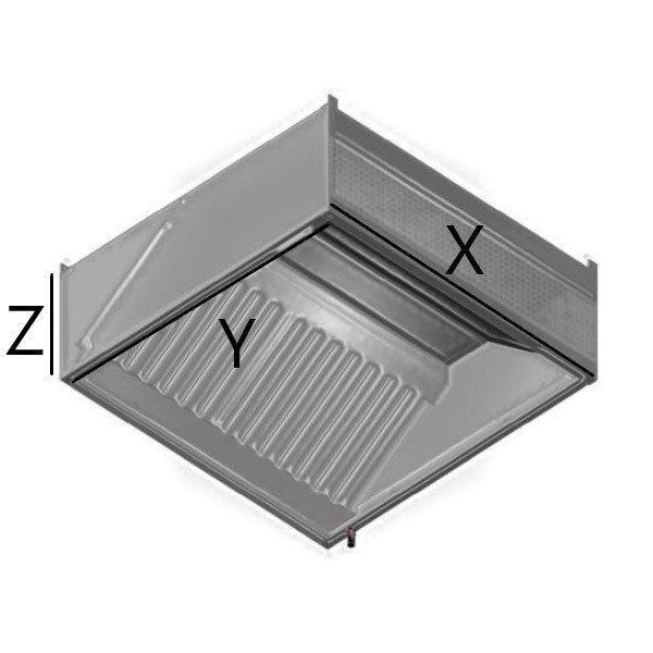 fali ipari elszívó ernyő méretezés