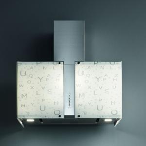 Falmec ALPHABET üveg (Square 67 fali) Mirabilia páraelszívókhoz - A készlet erejéig rendelhető! konyhai páraelszívó
