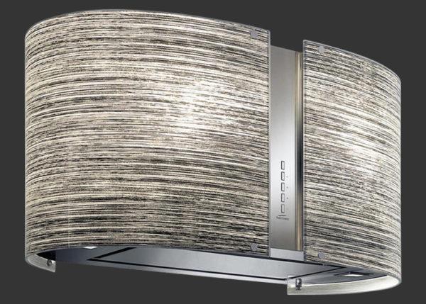 Falmec ELEKTRA üveg (Round 67 fali) Mirabilia páraelszívókhoz konyhai páraelszívó