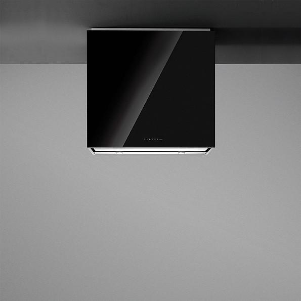 Falmec LAGUNA 90 fekete üveg (90 cm-es fali) elszívóhoz konyhai páraelszívó