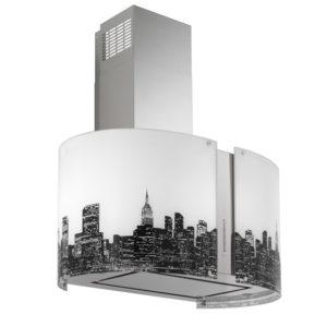 Falmec NEW YORK üveg (Round 67 fali) Mirabilia páraelszívókhoz konyhai páraelszívó