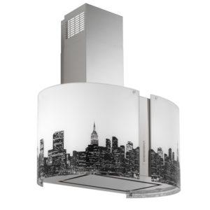 Falmec NEW YORK üveg (Round 85 sziget) Mirabilia páraelszívókhoz konyhai páraelszívó