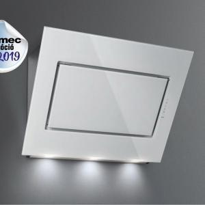 Falmec QUASAR EVO GLASS 90 fehér konyhai páraelszívó