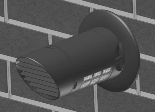 TEMPRA - DC motoros egyhelyiséges hővisszanyerő beépítese