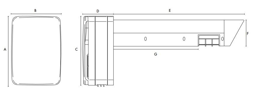 DC motoros egyhelyiséges hővisszanyerő