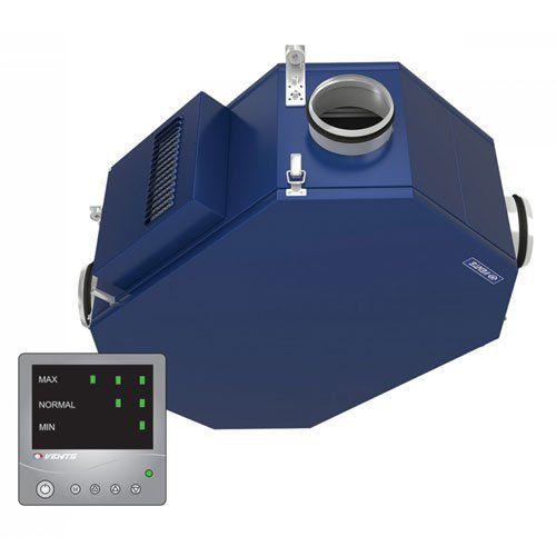 VUE2 250 PU EC hővisszanyerős központi szellőztető