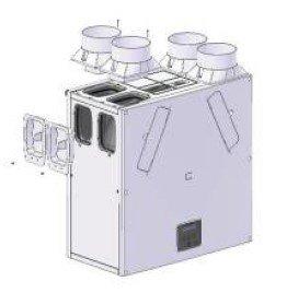 Vent-Axia KINETIC PLUS B cső csatlakozások