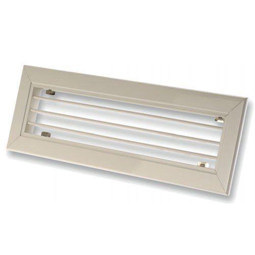 Fehér alumínium szellőző rács