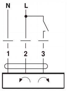 Belimo zsalumozgató motor 2Nm elektromos bekötése