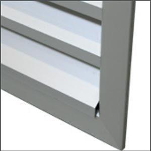 BLR-A60 alumínium esővédő rács kialakítása