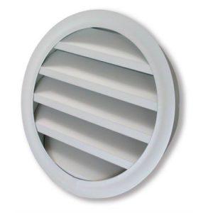 kör keresztmetszetű alumínium esővédő rács