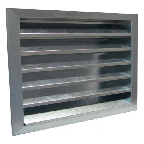 BLR-S Horganyzott acél esővédő rács
