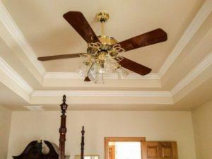 csillár ventilátor kiválasztása