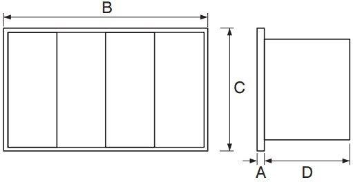 flf-asp tartalékszűrő méretek