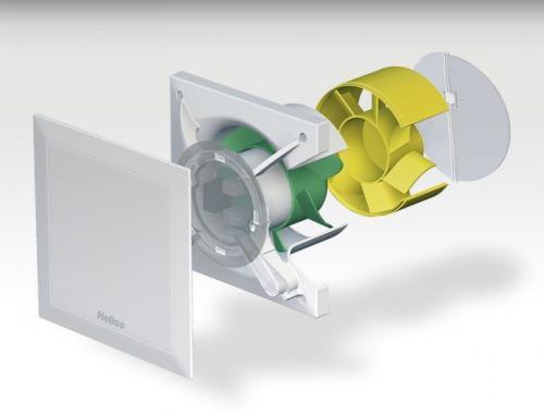 Helios M1 Minivent fürdőszobai ventilátor