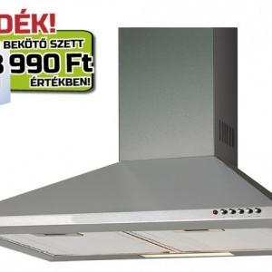 Cata V-600 X/L inox konyhai páraelszívó