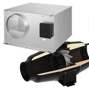 Hangcsillapított ventilátor