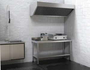 ipari konyha szagelszívó