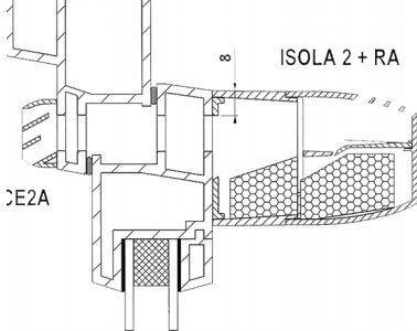 Isola 2 légbeeresztő felépítése