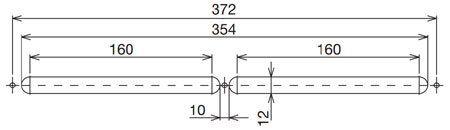 ISOLA-HY páratartalom szabályozású ablak légbevezető kivágási mérete