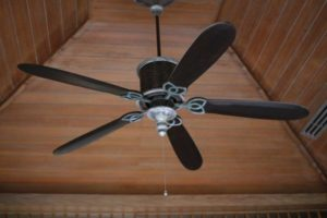 mennyezeti ventilátor felszerelése