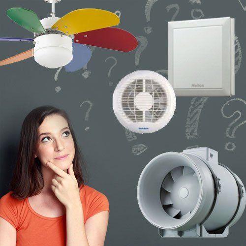 ventilátor választás