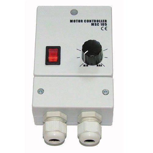 MSC 105 ventilátor fordulatszám szabályzó