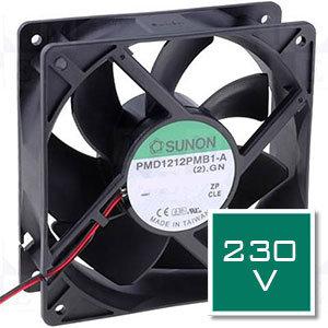 230VAC műszerventilátor