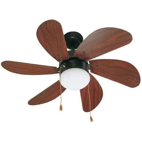 Palao mennyezeti ventilátor lámpával barna