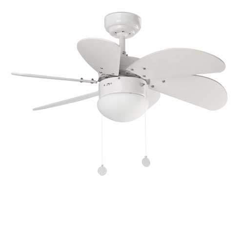 Palao fehér mennyezeti ventilátor