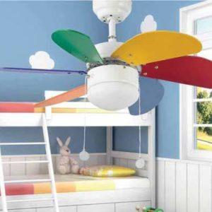 Palao színes mennyezeti ventilátor