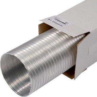 Félmerev alumínium légcsatorna