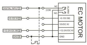 TC10 programozható ventilátor vezérlő bekötése