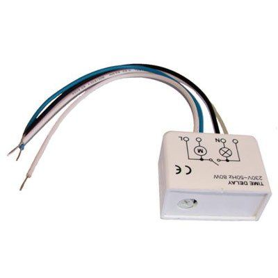 Timer A2V2TV időzítő elektronika állítható kikapcsolási késleltetéssel