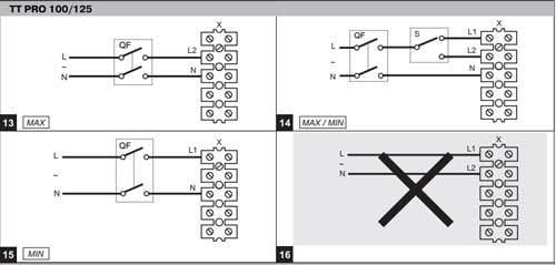 TT mix szellőztető ventilátor bekötése