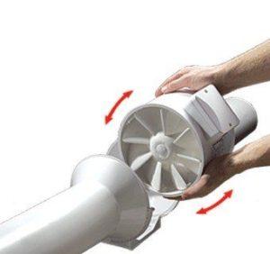 VENTS TT MIX csőventilátor tisztítása