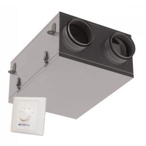 VUE 100 P mini hővisszanyerős szellőztető